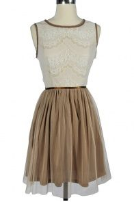 Tiramisu Tea Dress - not in the theme but named for my FAVOURITE FOOD?!? Yes PLEASE!