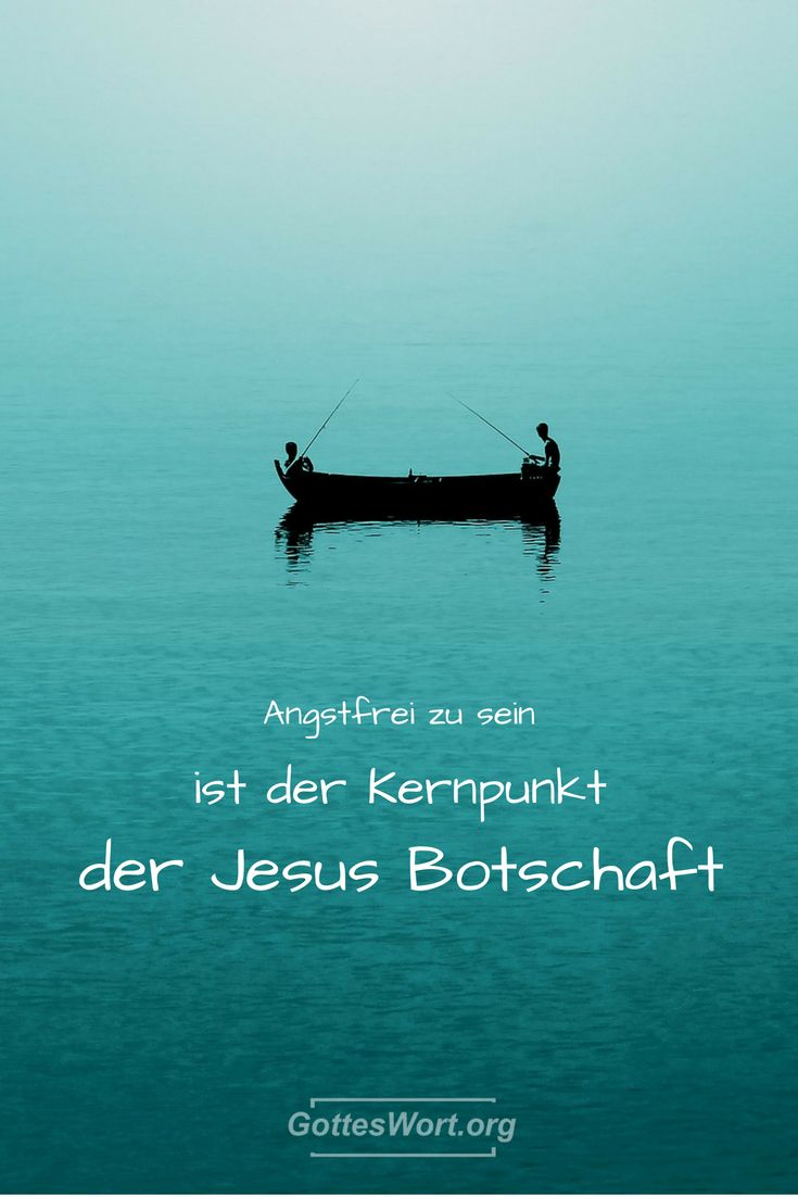 Angstfrei zu sein ist der Kernpunkt der Jesus Botschaft. Aber wie? Antwort hier: http://www.gottes-wort.com/angstfrei.html