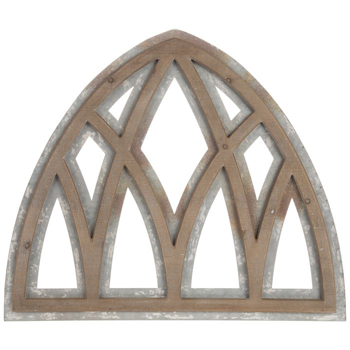 Get Galvanized Cathedral Arch Metal Wall Decor Online Or Find