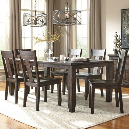 Found it at Wayfair - 7 Piece Dining Set