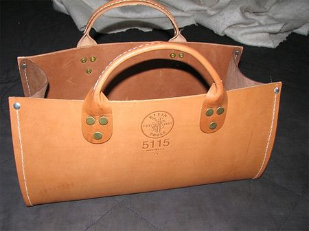 "Pretty Straight-Forward bag... Maybe I can make two: one for around-the-house tool toting, one for ""the shops."""
