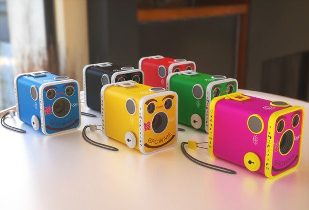 limited edition for 2012 Olympics - kodak's remake of the brownie....x