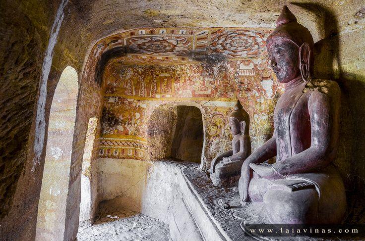 Hpo Win, Myanmar. La mayoría de estas cuevas no son naturales sino que han sido excavadas por el hombre. Algunas datan del siglo XV y se han convertido en lugar de peregrinaje por lo que no pueden ser visitadas por los no creyentes.