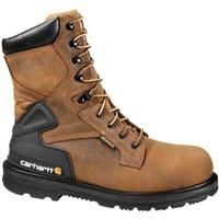"Men's Carhartt® 8"" Waterproof Work Boots, Bison Brown: Men's Carhartt® 8"" Waterproof Work Boots, Bison… #Hunting #Shooting #Fishing #Camping"