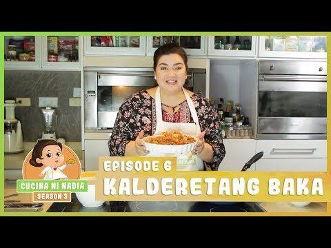 Cucina Ni Nadia 3 Kalderetang Baka Episode 6 Youtube
