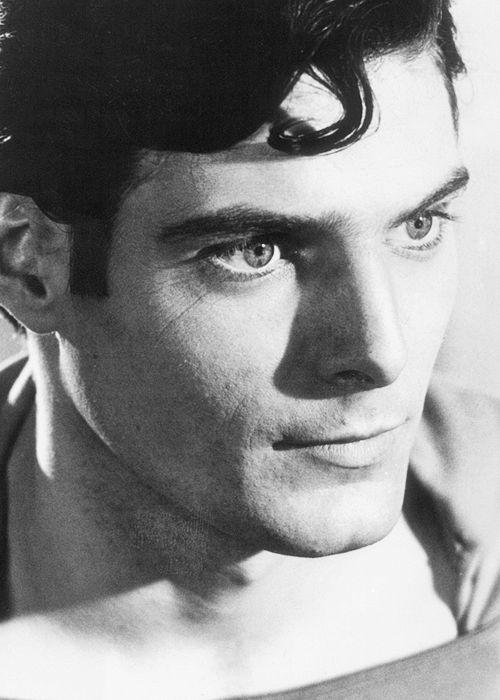 Christopher Reeve as Superman. (September 25, 1952 – October 10, 2004)