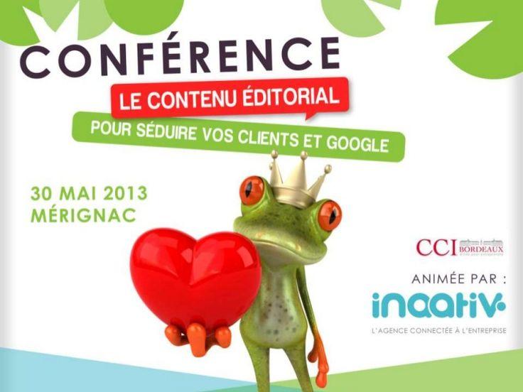 Le contenu éditorial comme technique de séduction double : Google et vos internautes !