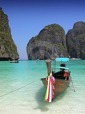 Phi Phi Island - Thailand  It has been the backdrop for the 2000 movie The Beach.