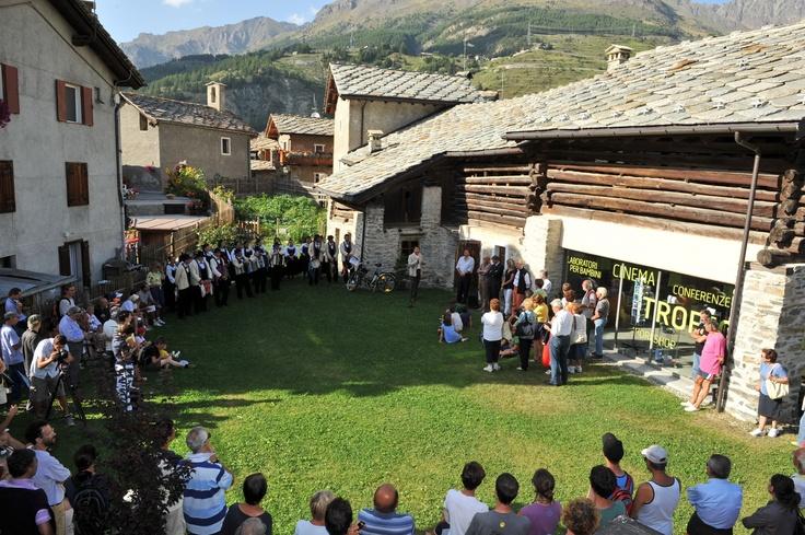 Cerimonia di apertura del XV Trofeo Stambecco d'Oro
