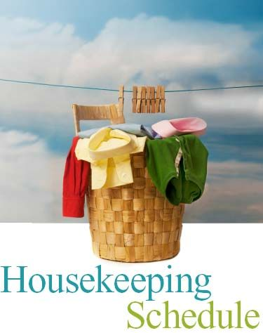 Time-Warp Wife - Keeping Christ at the Center of Marriage: House Cleaning Schedule