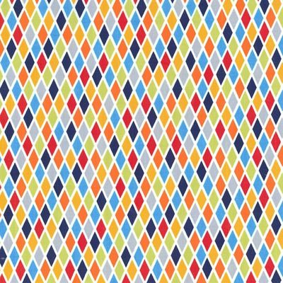 Rhombus Blue - Michael Miller Fabrics