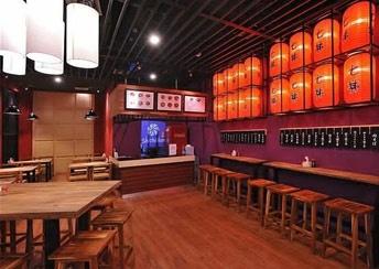 Shichidon - Japanese Ramen & Donburi Galaxy Mal - Lenmarc Rustic japanese restaurant design interior
