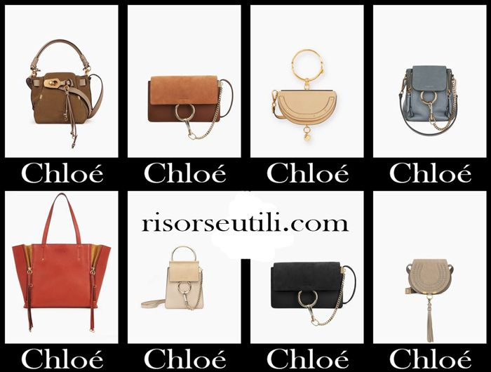 Handbags Chloé fall winter 2017 2018 women bags