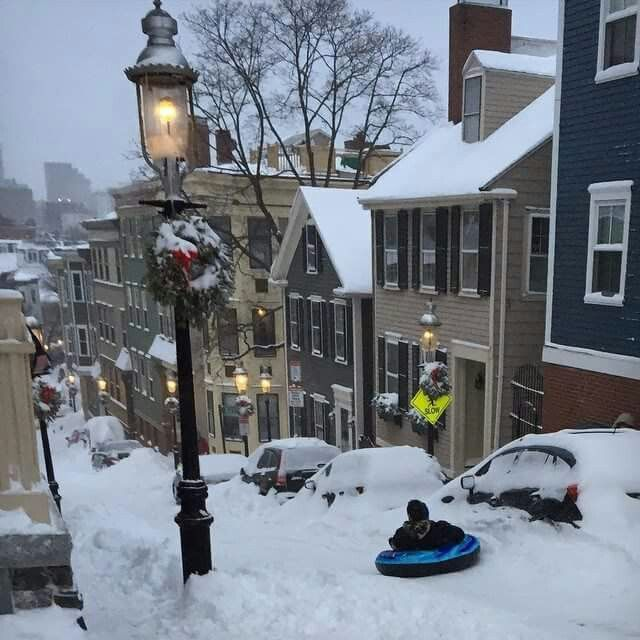 Boston after 2015 blizzard