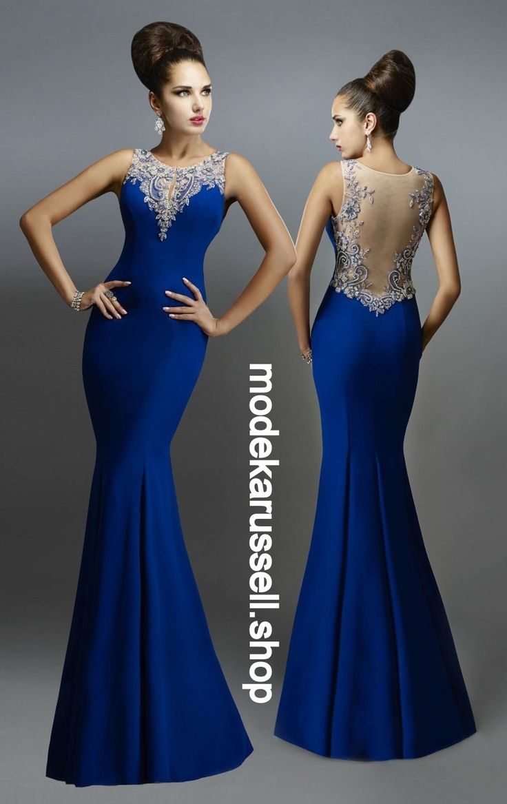 Abendkleid in Blau Feven