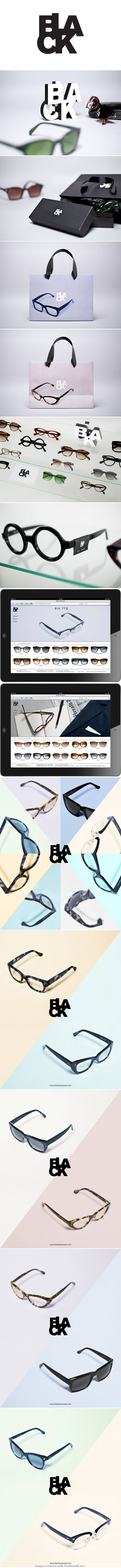 Bibliotheque for optician and life-long jazz enthusiast, Robert Roope. Clever glasses identity packaging branding PD