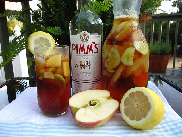 cant beat a Pimms jug at your garden party