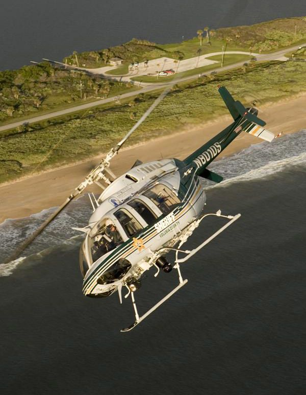 Volusia County Sheriff Bell 407 helicopter