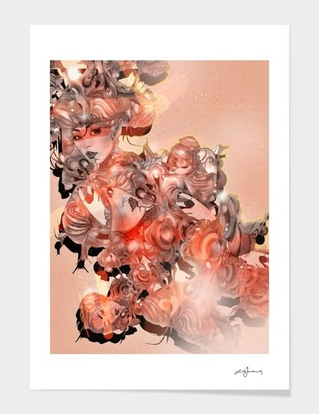 """""""mangoinsight-1st"""", Numbered Edition Fine Art Print by Giulio Iurissevich - From 25,00€ - Curioos"""