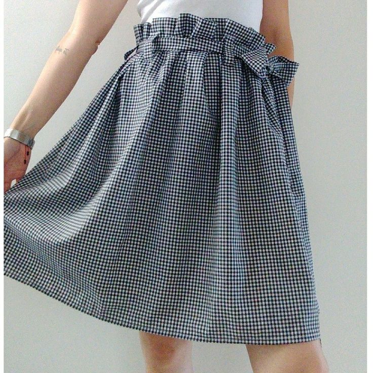 Paper bag skirt by STYLE TISSU
