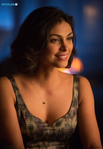 Morena Baccarin as Dr. Leslie Thompkins - 35 years old but yet I'm so sexually attracted to her....smh