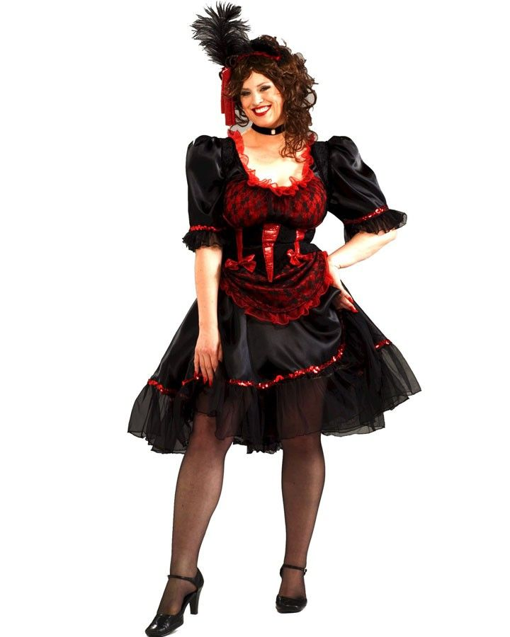 Country and western fancy dress plus size