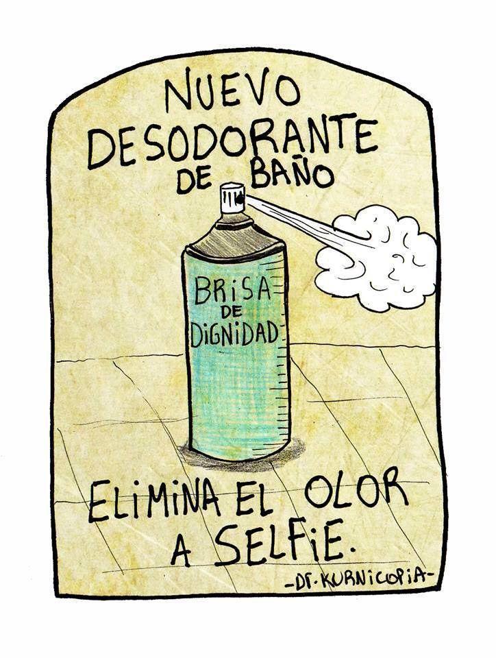 Elimina el olor a selfie. #humor #risa #graciosas #chistosas #divertidas