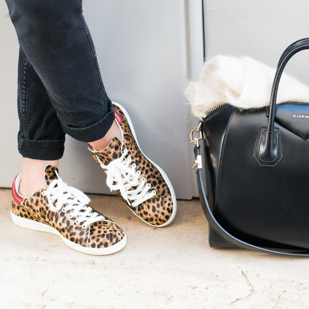 Leopard Bart sneakers by Isabel Marant