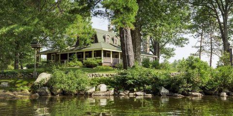 Lake Winnipesaukee Great Camps - Boulder Lodge for Sale