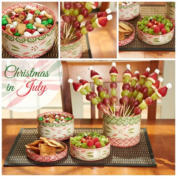 Wonderful Christmas In July Party Food Ideas Part - 1: Temp-tations® By Tara: U0027Tis The Season: Christmas In July!