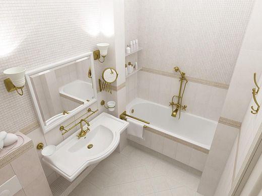 Ванная  2-к  квартира по ул. Сибревкома. Ванная