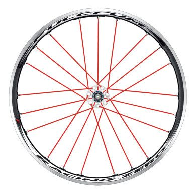 Fulcrum Racing Zero Red Passion Wheels - Pair