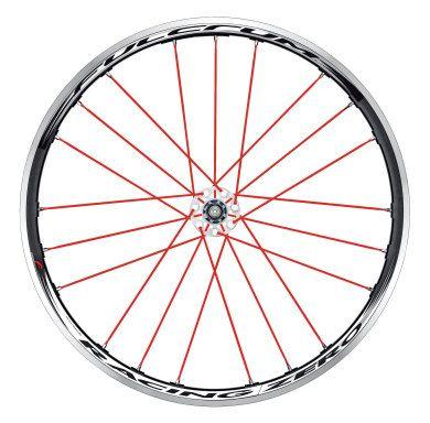 Fulcrum Racing Zero Red Passion Wheels - Pair