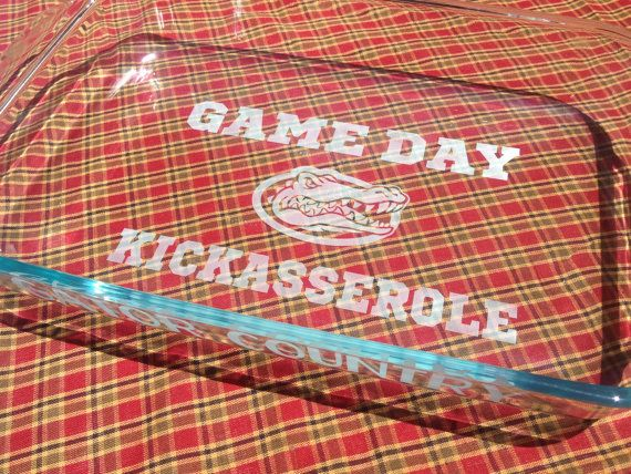Hey, I found this really awesome Etsy listing at http://www.etsy.com/listing/156075412/florida-gators-gameday-kickasserole