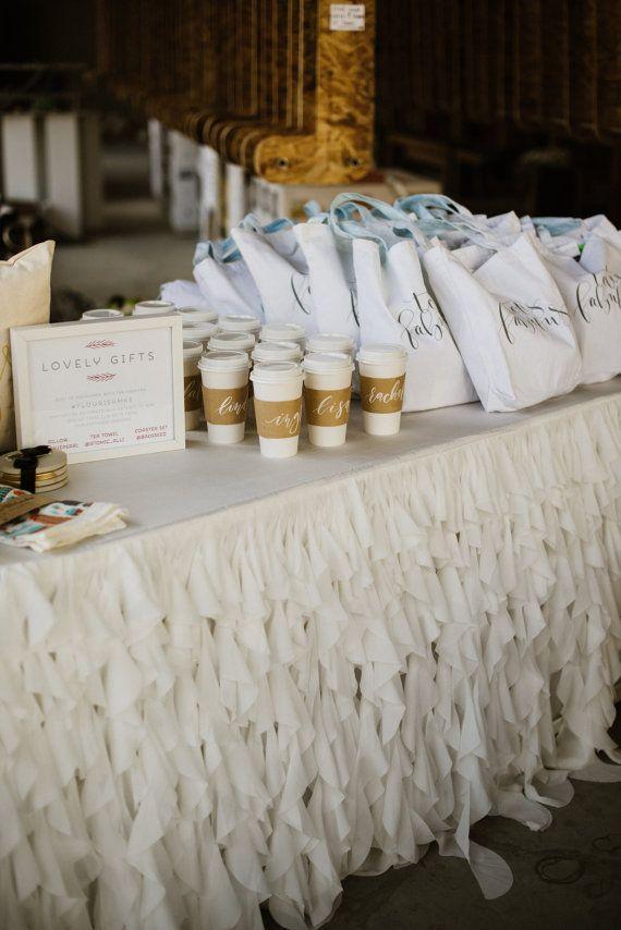 Chiffon Romantic Ruffles Tablecloth by mrsfreund on Etsy