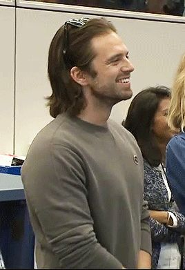 Sebastian Stan I Want Someone To Look At Me The Way Seb Is Looking At Someone Something Right