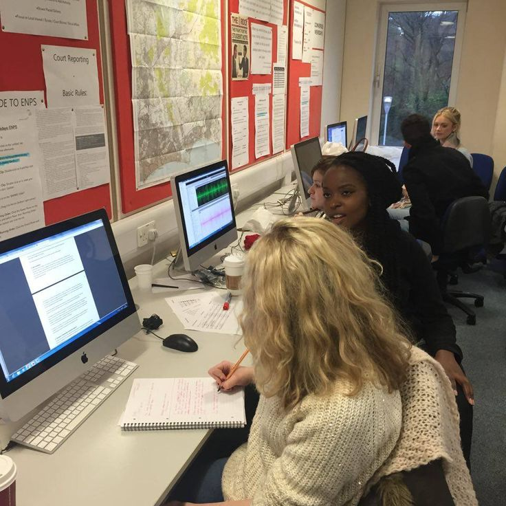 The radio team creating packages for our 1pm Bulletin #radio #news #dorset #bournemouth