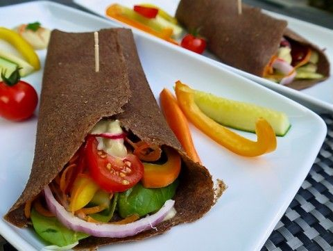 @Low Fat Vegan Chef's Raw Vegan Flaz Tortilla Wraps. DELICIOUS! @Veronica Grace