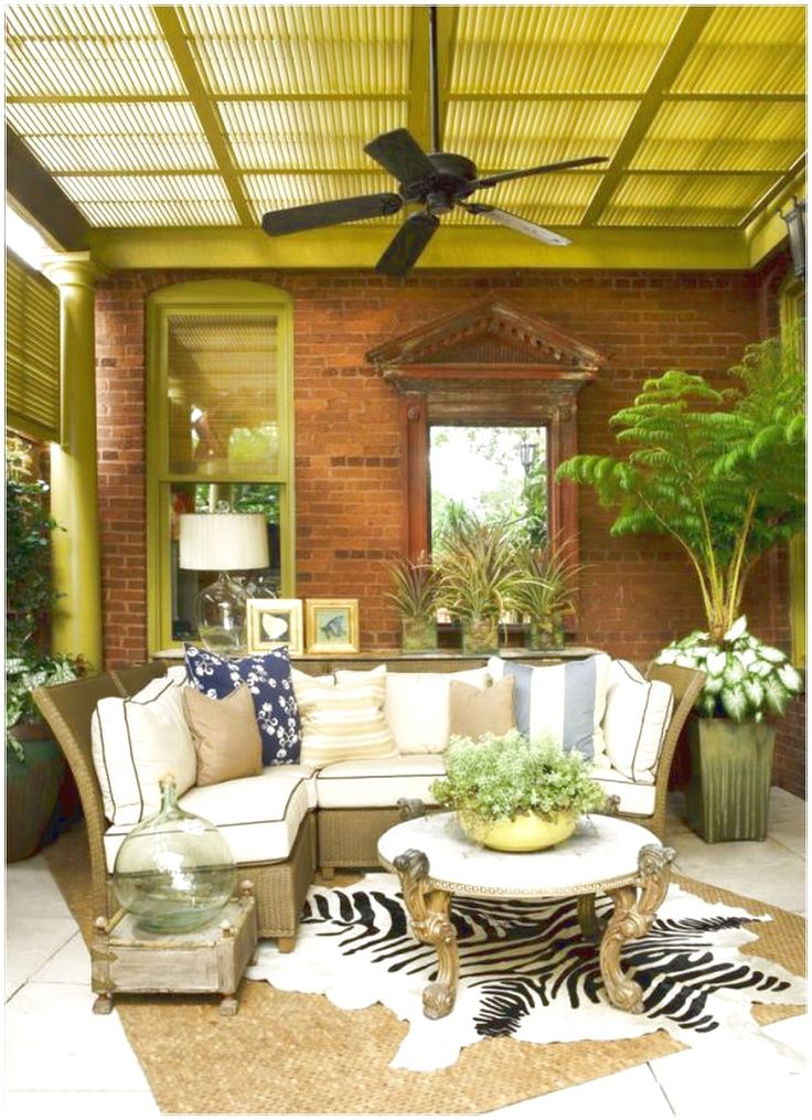 SIMPLE WAY TO PERFECT PORCH EASILY KERPET BROWN DECOR