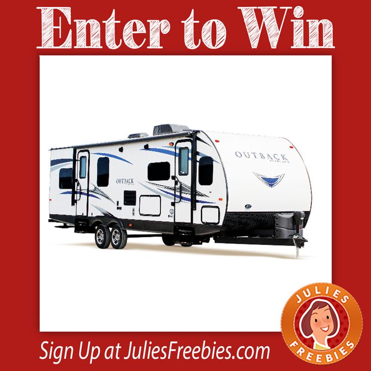 Facebook Twitter PinterestHere is an offer where you can enter DAILY to win a $28,000 Keystone Outback Travel Trailer! Ends on May 31, 2017. ENTER HERE