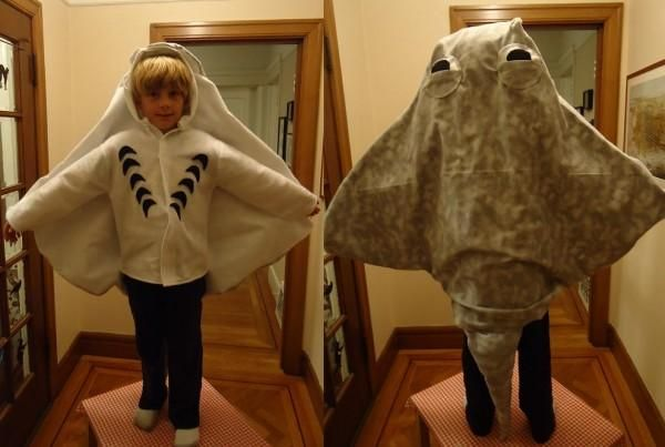 Not sure if this is usable... but pinning this sting ray costume all the same in case it is...