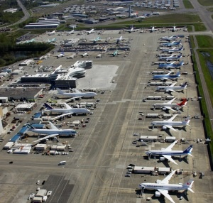 Today I Retire & say goodbye and Thank you to all the great coworkers at Boeing now spread all over the Country.. Bless you all.. XOXO   My last days from Pre-Flight and Delivery at Boeing  Everett Washington Paine field.  Happy Trails.. Fly on....