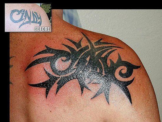 black cover up black tribal tattoo cover up on shoulder design tatoos pinterest tattoos. Black Bedroom Furniture Sets. Home Design Ideas
