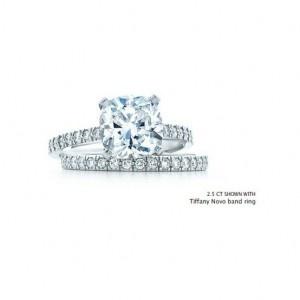 2.5CT Tiffany Novo Engagement Ring and Wedding Band- AMAZING!!!   Yes Please!!! merebennett