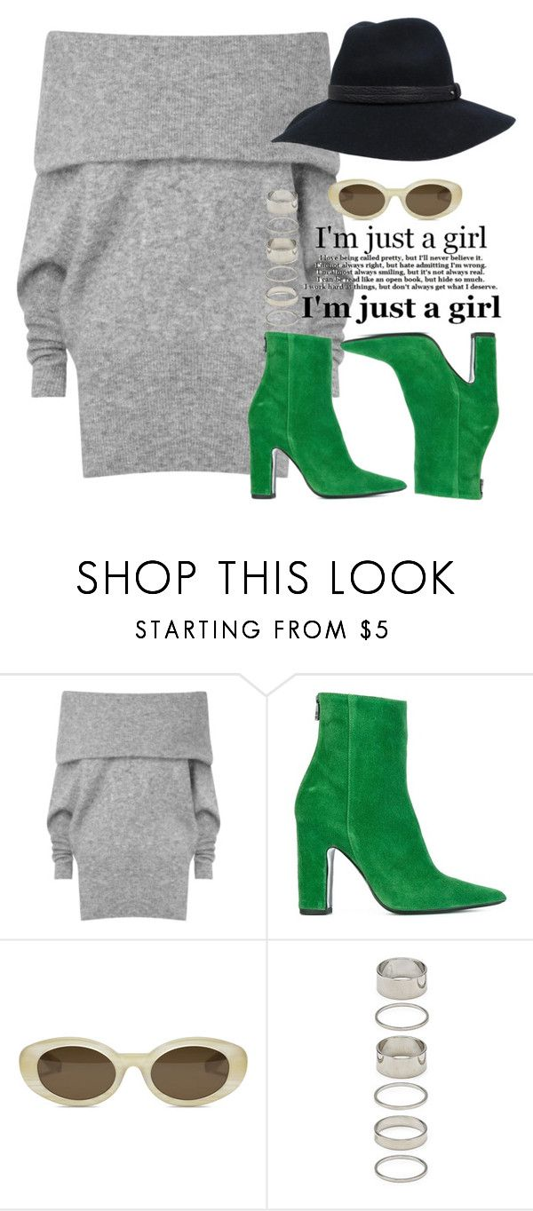 """""""Deem"""" by fashion-is-my-passion-14 on Polyvore featuring Acne Studios, Barbara Bui, Elizabeth and James, Forever 21 and rag & bone"""