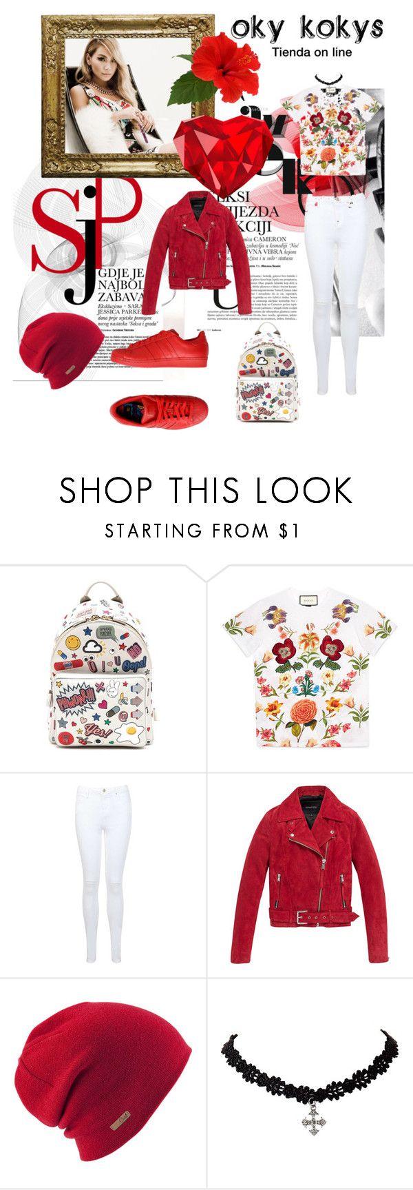"""CL KPOP 2NE1"" by anna-lauren on Polyvore featuring moda, Braun, adidas Originals, Anya Hindmarch, Gucci, Miss Selfridge, Andrew Marc, Coal, kpop y 2NE1"
