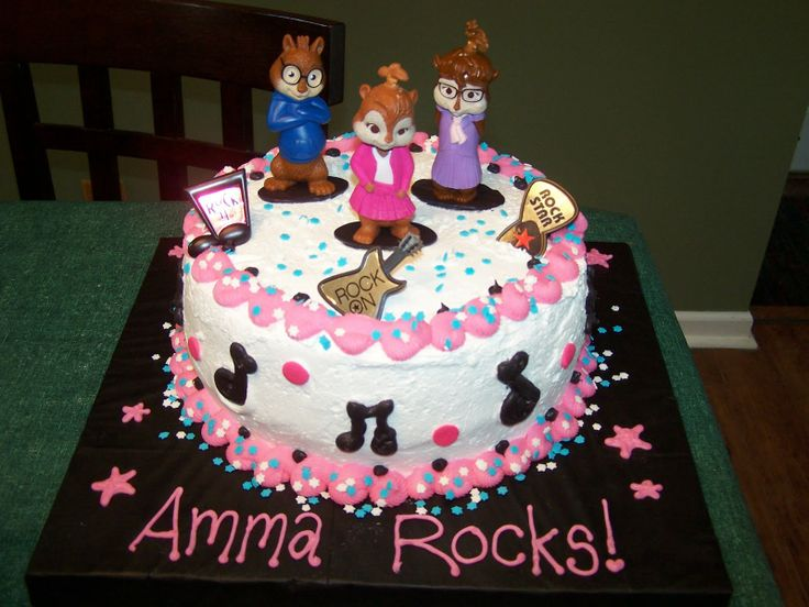 the chipettes cake - Google Search