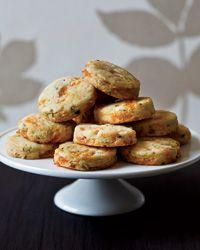 Apricot-Tarragon Cocktail Cookies Recipe on Food & Wine