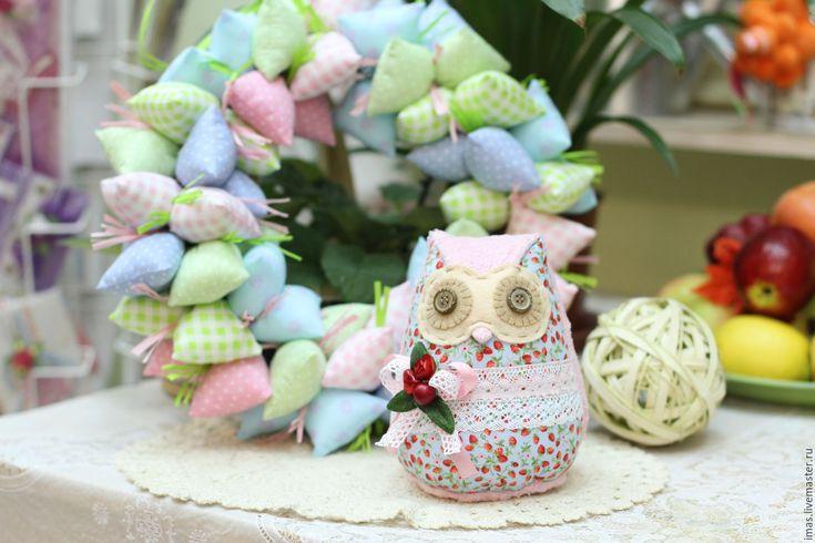 Купить Совушка Розовая - подарок дочке, сова игрушка, сова, игрушка, совенок, милая игрушка