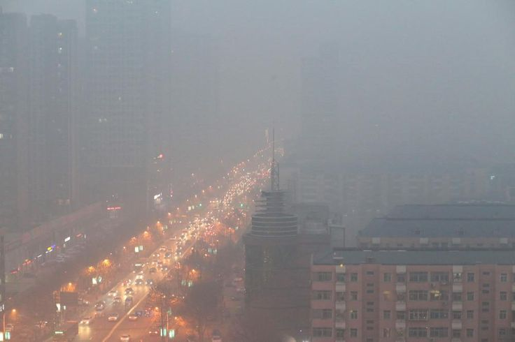 This Is What China Looks Like When Its Cities Are on a 'Red Alert' for Smog | VICE News
